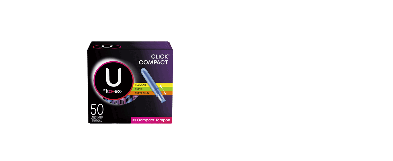Click Compact Tampons Multiple Box
