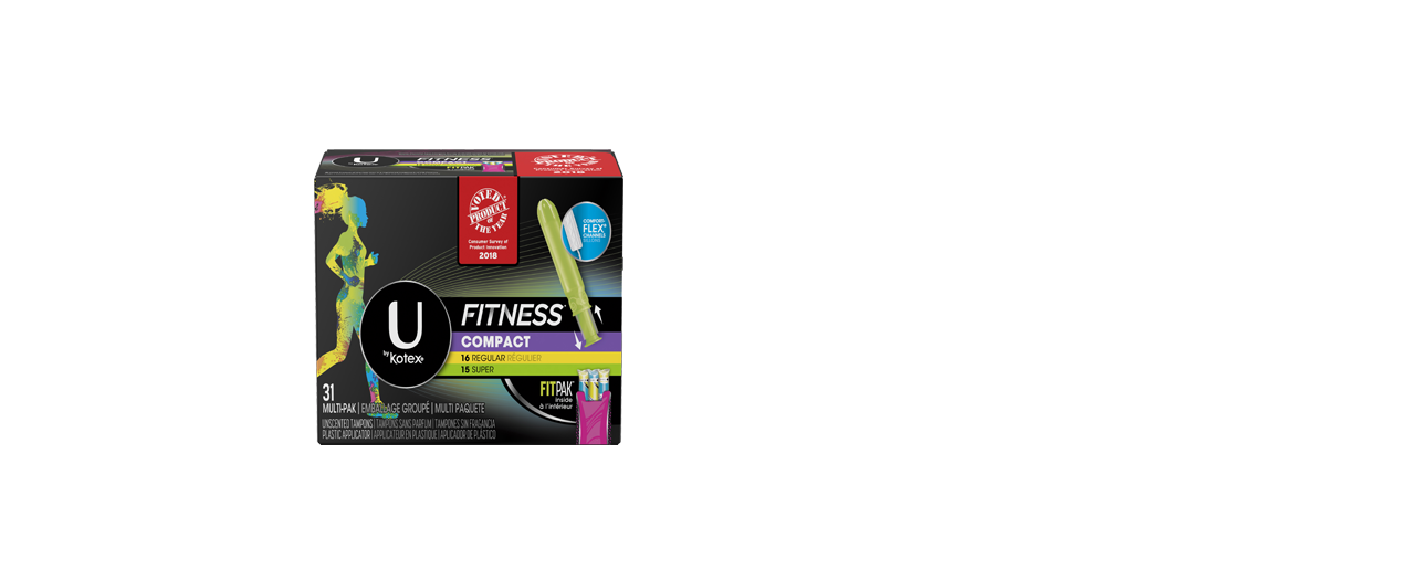 Fitness Tampons Multiple Box