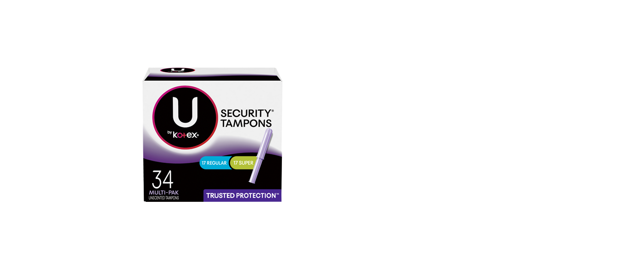 Security Tampons Regular Spuer 34ct
