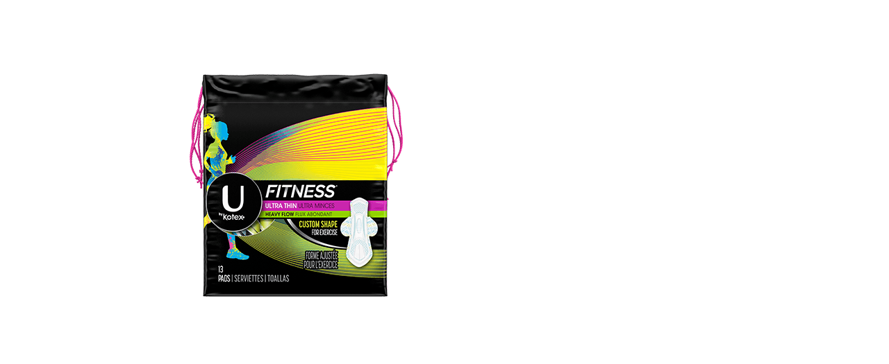 Fitness ultra thin pads heavy box.