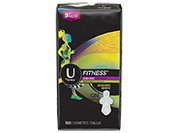U by Kotex® Fitness Ultra Thin Heavy Flow Pads