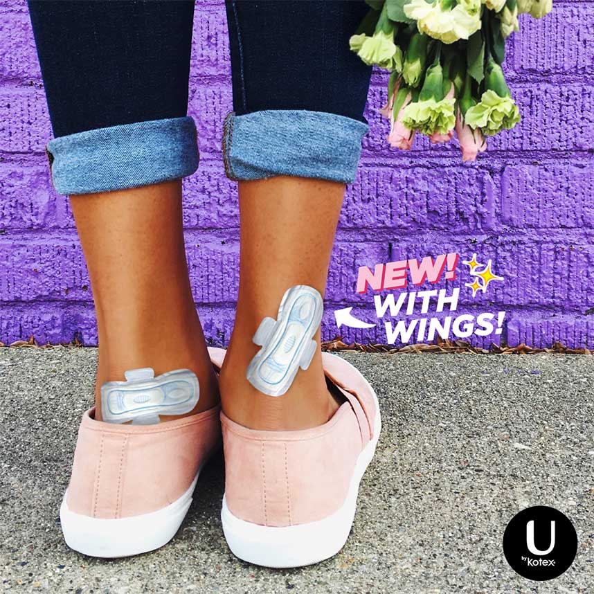 U by Kotex® April Fools Bandages